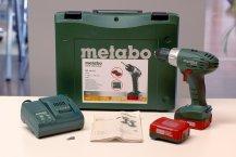 Metabo BS 14,4 Akkuschrauber - Lieferumfang